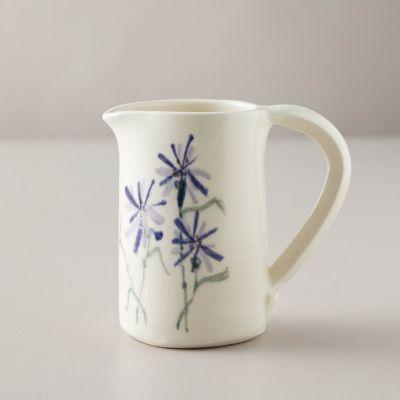 Porcelain Cornflower Pitcher
