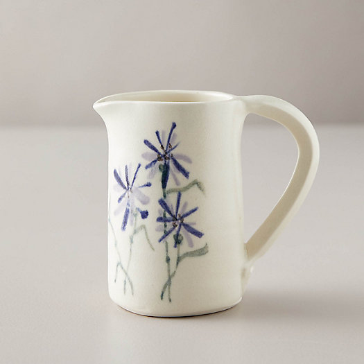 View larger image of Porcelain Cornflower Pitcher