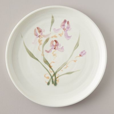 Porcelain Wild Orchid Serving Plate