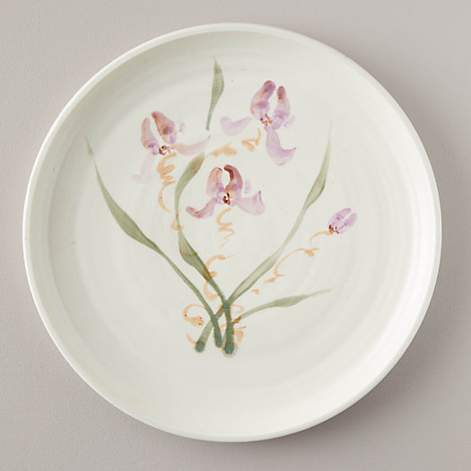 View larger image of Porcelain Wild Orchid Serving Plate