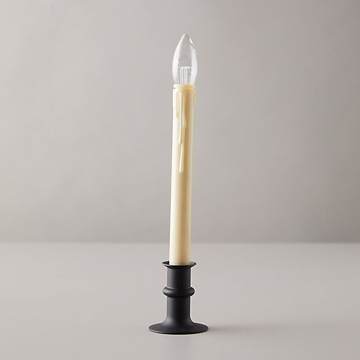 View larger image of Adjustable Window LED Taper Candle