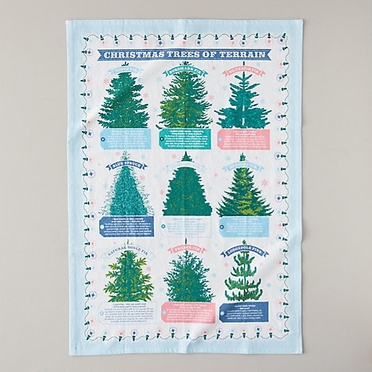 View larger image of Terrain Trees Tea Towel