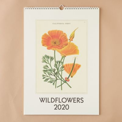 2020 Wall Calendar, Wildflowers