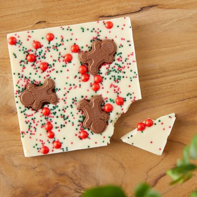 White Chocolate Gingerbread Bark