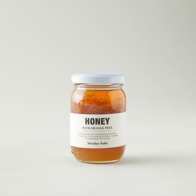 Orange Blossom Honey with Orange Peel