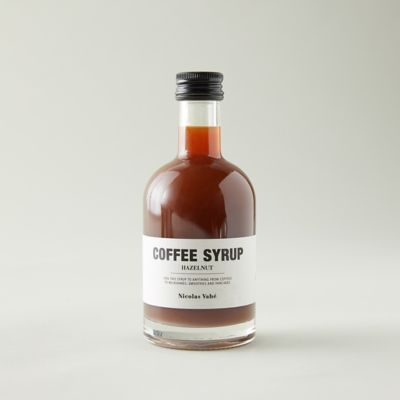 Hazelnut Coffee Syrup