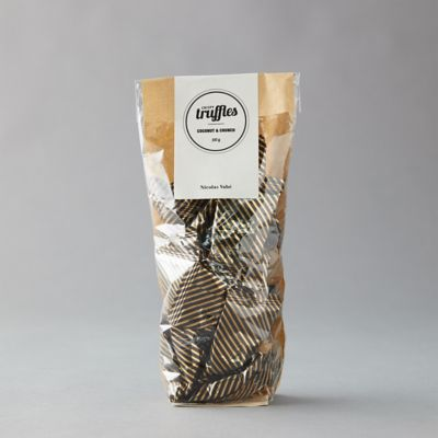 Coconut + Crunch Chocolate Truffles