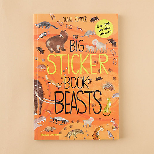 View larger image of The Big Sticker Book of Beasts