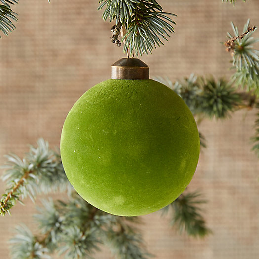 View larger image of Velvet Globe Ornament