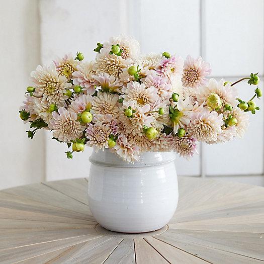 View larger image of Fresh Creme Dahlia Bouquet