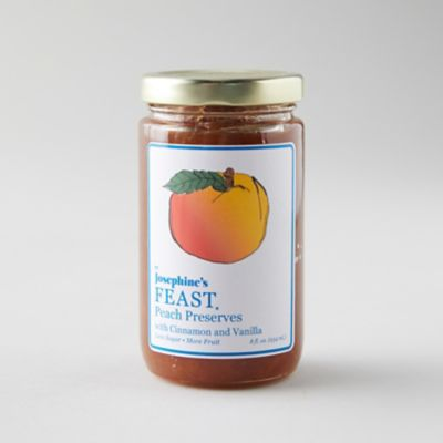 Cinnamon Spiced Peach Preserves