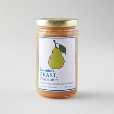 Almond + Cardamom Pear Butter