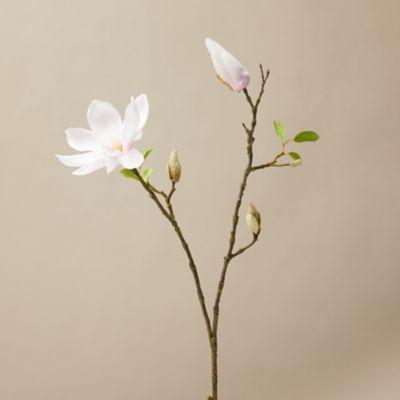 Faux Sparse Magnolia Stem