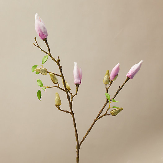 View larger image of Faux Magnolia Bud Spray, 30
