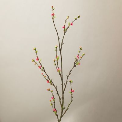 Faux Quince Bud Spray, 58