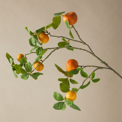 Faux Orange Tree Branch