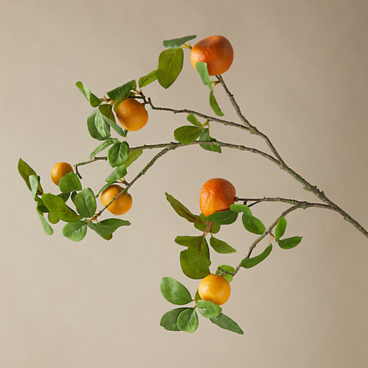 View larger image of Faux Orange Tree Branch