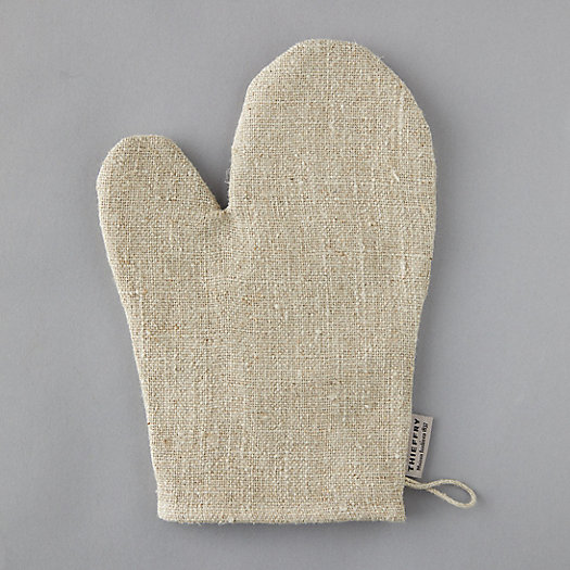 View larger image of Linen Oven Mitt