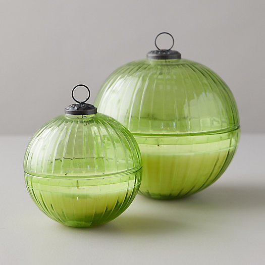 View larger image of Linnea's Lights Ornament Candle, Forest Fir