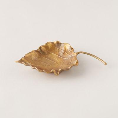 Finished Brass Leaf