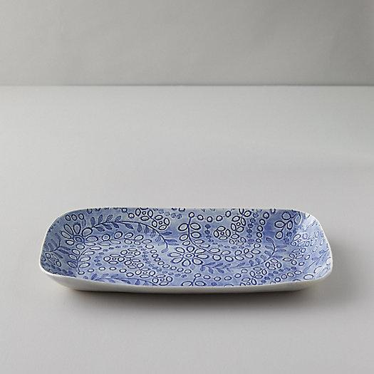 View larger image of Color Washed Trailing Florals Serving Platter