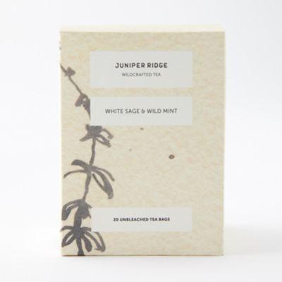 Juniper Ridge Tea, White Sage + Wild Mint