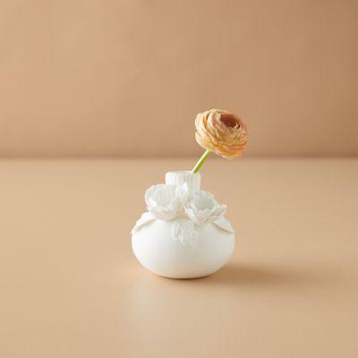 Porcelain Bud Vase, Poppy