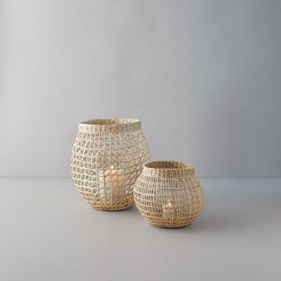 Seagrass Basket Lantern