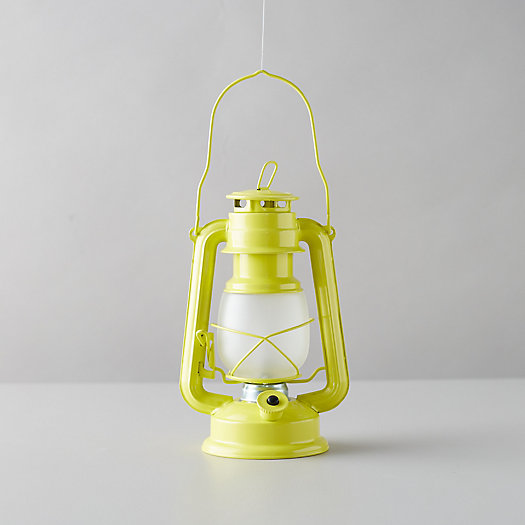 View larger image of LED Frosted Camp Lantern
