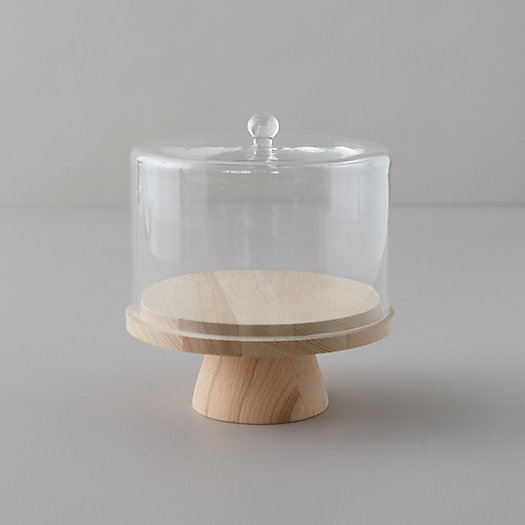 View larger image of Beech Wood Serving Stand