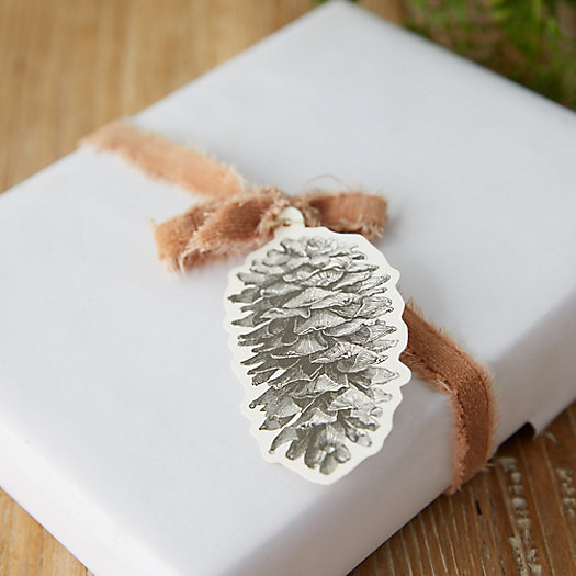 View larger image of Pinecone Gift Tags, Set of 12