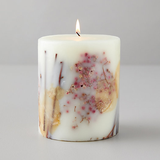 View larger image of Pressed Botanicals Candle, Apricot Rose