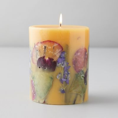 Pressed Botanicals Candle, Wild Plum + Cannabis