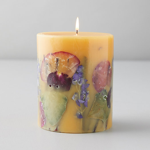 View larger image of Pressed Botanicals Candle, Wild Plum + Cannabis