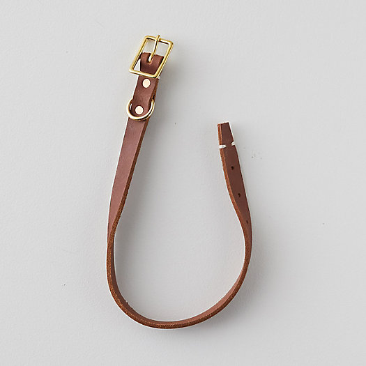 View larger image of Leather Pet Collar