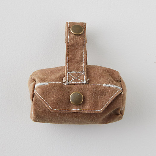 View larger image of Waxed Canvas Dog Waste Bag Carrier