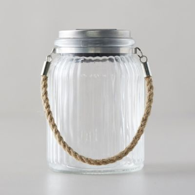 LED Solar Jar Lantern