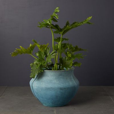 Fiberglass Bell Jar Planter, Tall