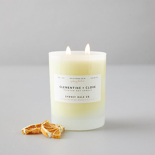 View larger image of Sydney Hale Candle, Clementine + Clove