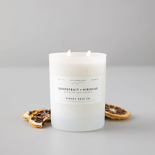 View larger image of Sydney Hale Candle, Grapefruit Hibiscus