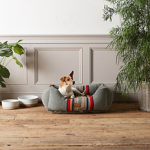 View larger image of Pendleton Plaid Camp Pet Bed