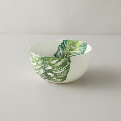 Monstera Leaf Serving Bowl