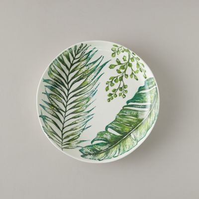 Tropical Leaves Serving Bowl