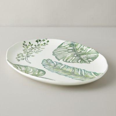 Tropical Leaves Serving Platter