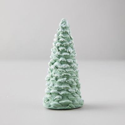 Chocolate Christmas Tree, Snowy