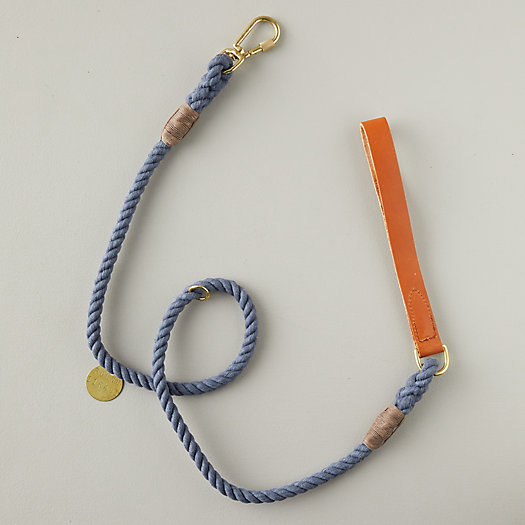 View larger image of Denim + Leather Leash