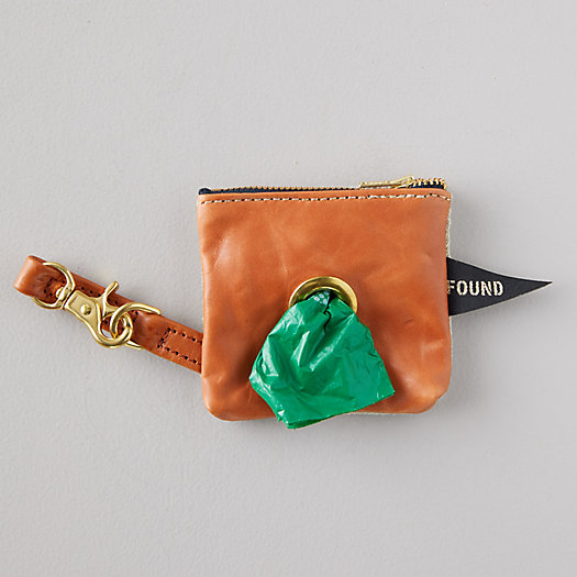 View larger image of Leather Dog Waste Bag Carrier