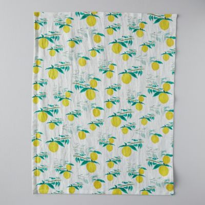 Zesty Lemon Tea Towel