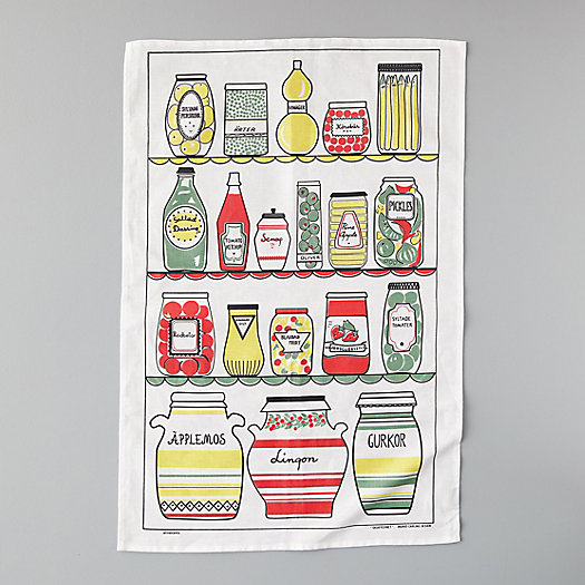 View larger image of Condiments Tea Towel