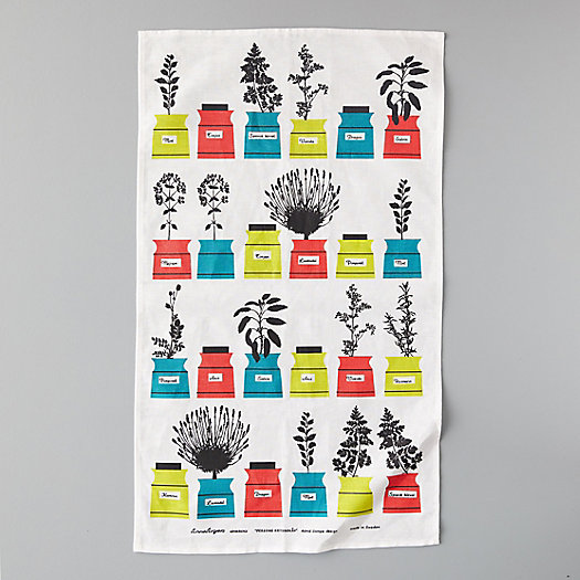 View larger image of Herbs Tea Towel